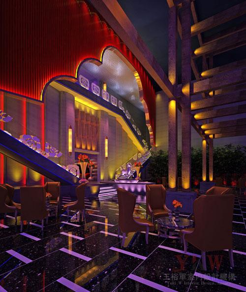 海口好百年演艺城夜总会委托王裕军室内设计机构空间设计